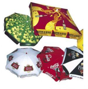 parasols publicitaires